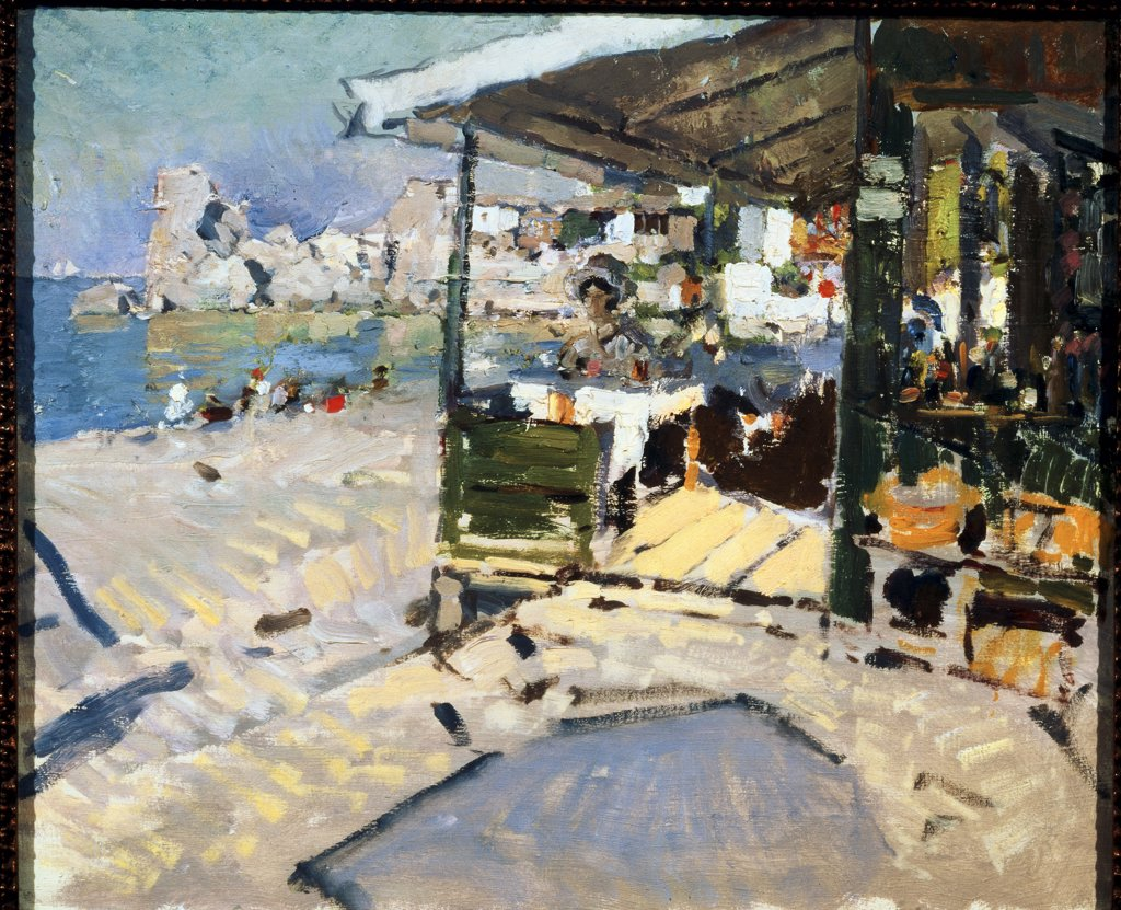 Stock Photo: 261-358 At the Crimean Coast