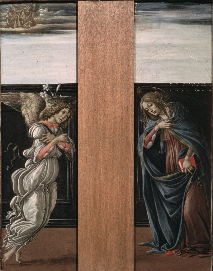 Stock Photo: 261-389 Mary's Annunciation 