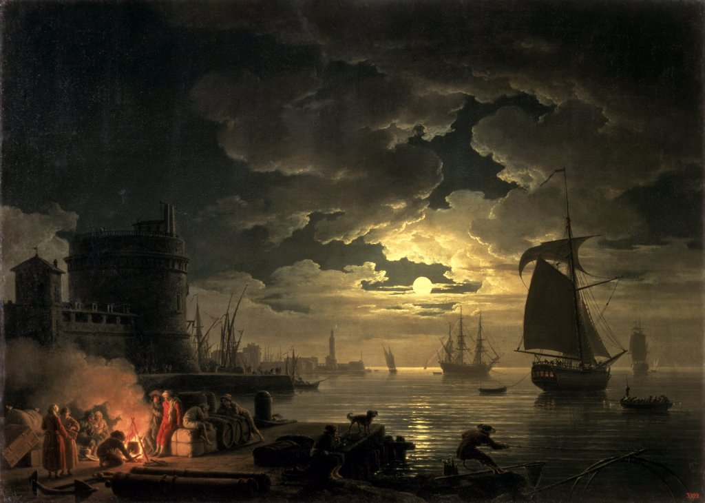 Stock Photo: 261-444 The Harbor of Palermo