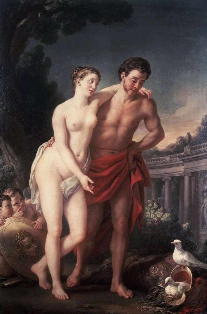Stock Photo: 261-445 Venus and Mars 