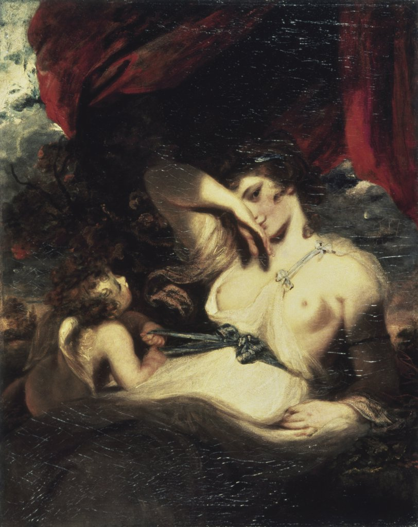 Stock Photo: 261-476 Venus and Amor