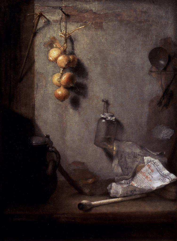 Still Life 1660 Christoph Paudiss (ca.1625-1666 67 German) Oil On Canvas State Hermitage Museum, St. Petersburg, Russia : Stock Photo