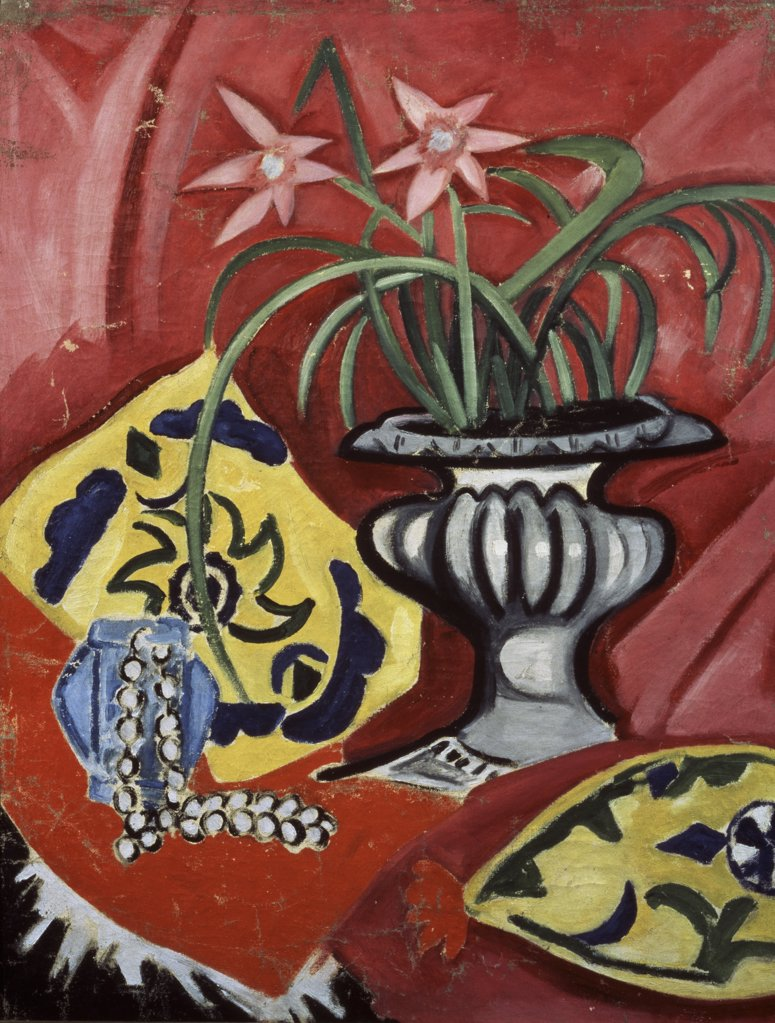 Stock Photo: 261-610 Still Life With A Vase