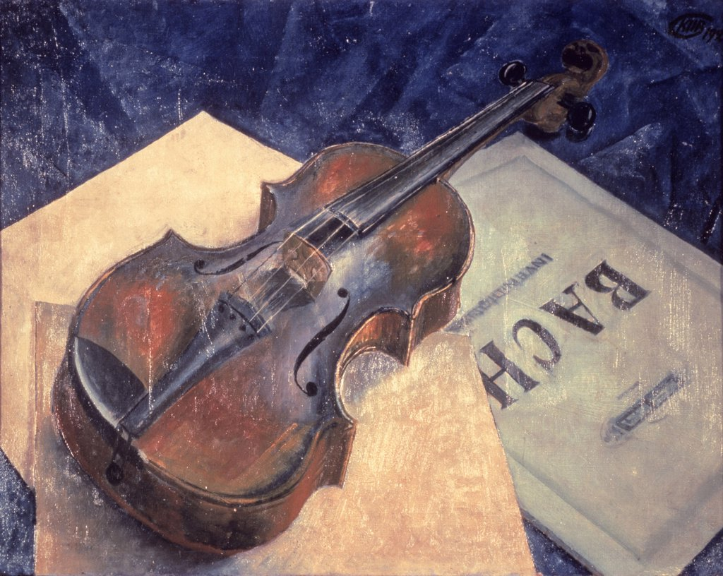 Stock Photo: 261-616 Still Life with Violin 