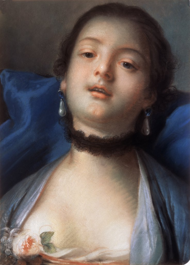 Stock Photo: 261-617 Female Head