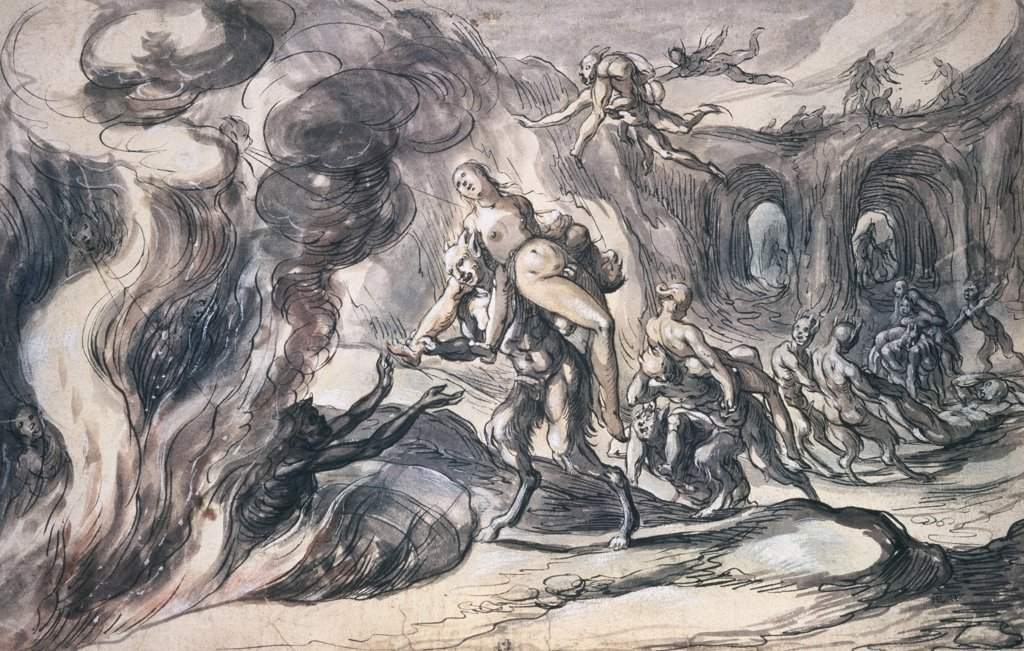 Stock Photo: 261-673 Eurydice in Hell 