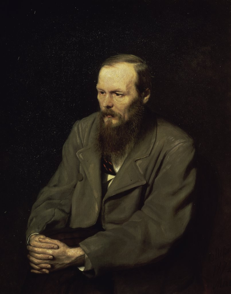 Stock Photo: 261-699 Portrait of the Fyodor Dostojevsky