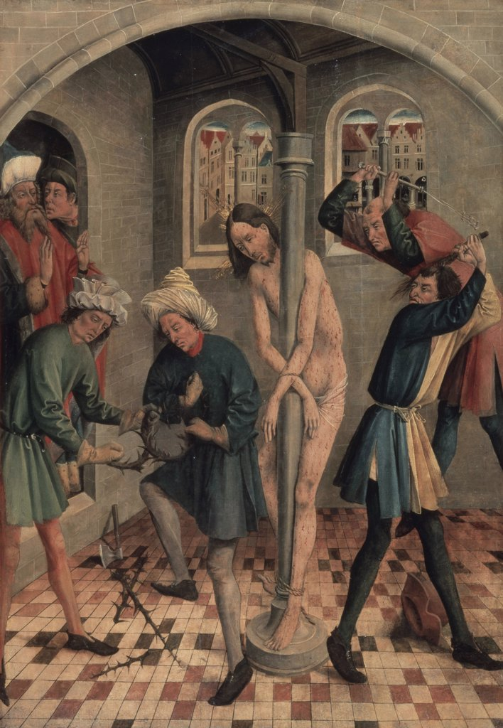 Stock Photo: 261-726 The Flagellation of Jesus 