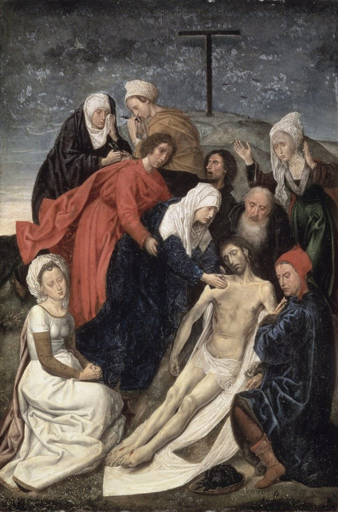 Stock Photo: 261-727 The Lamentation 