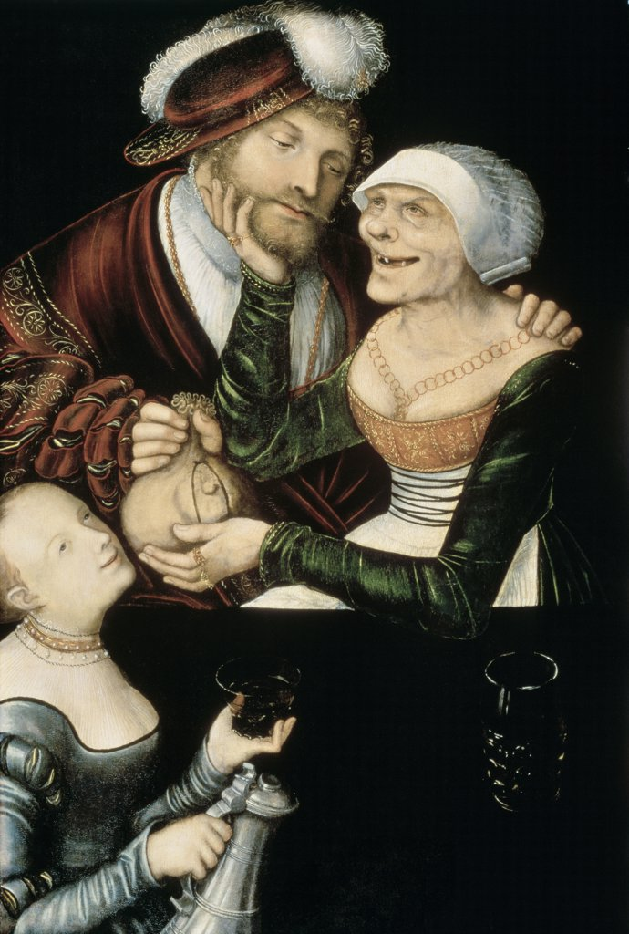 Stock Photo: 261-752 A Procuress 