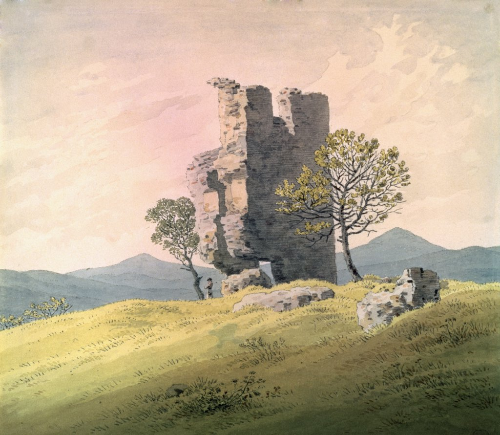Stock Photo: 261-776 The Castle in Teplitz