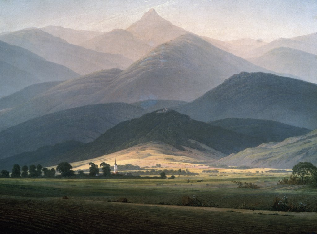 Stock Photo: 261-791 In the Mountains
