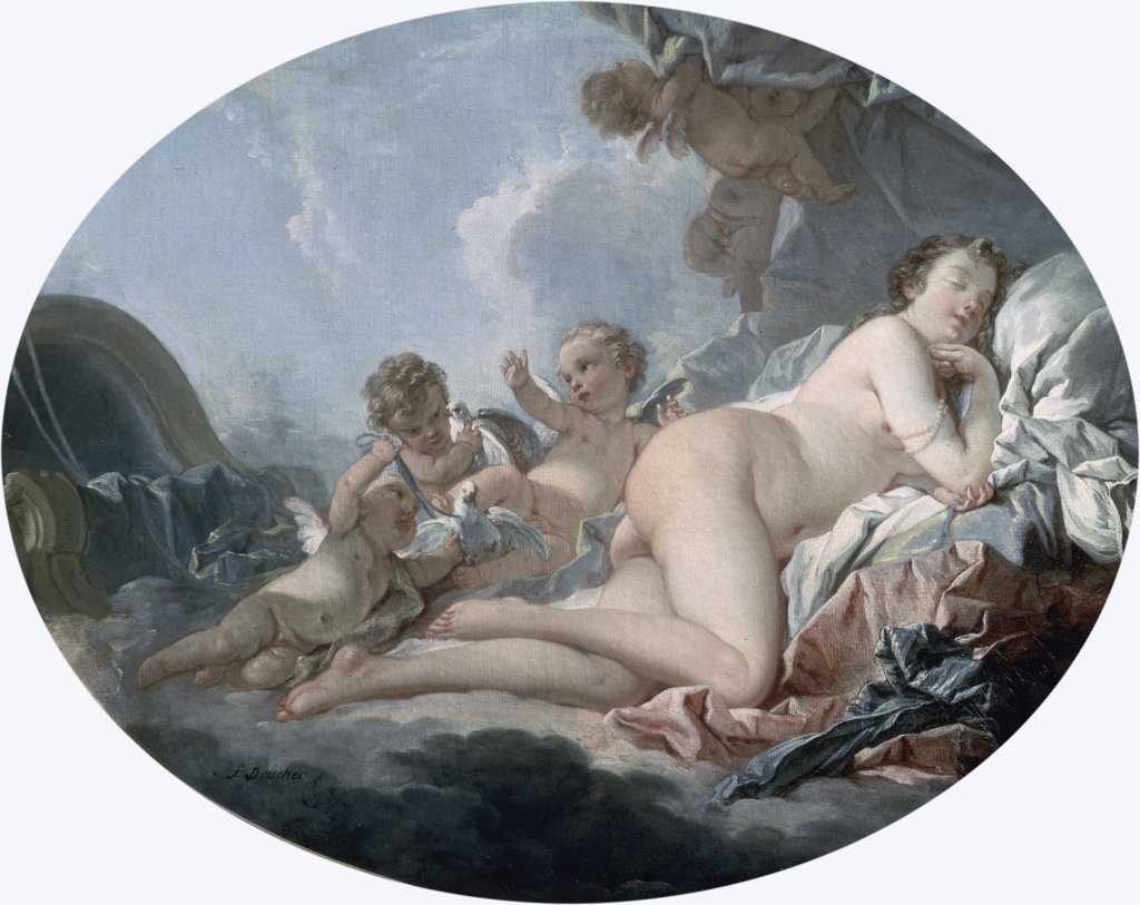 Stock Photo: 261-798 Sleeping Venus