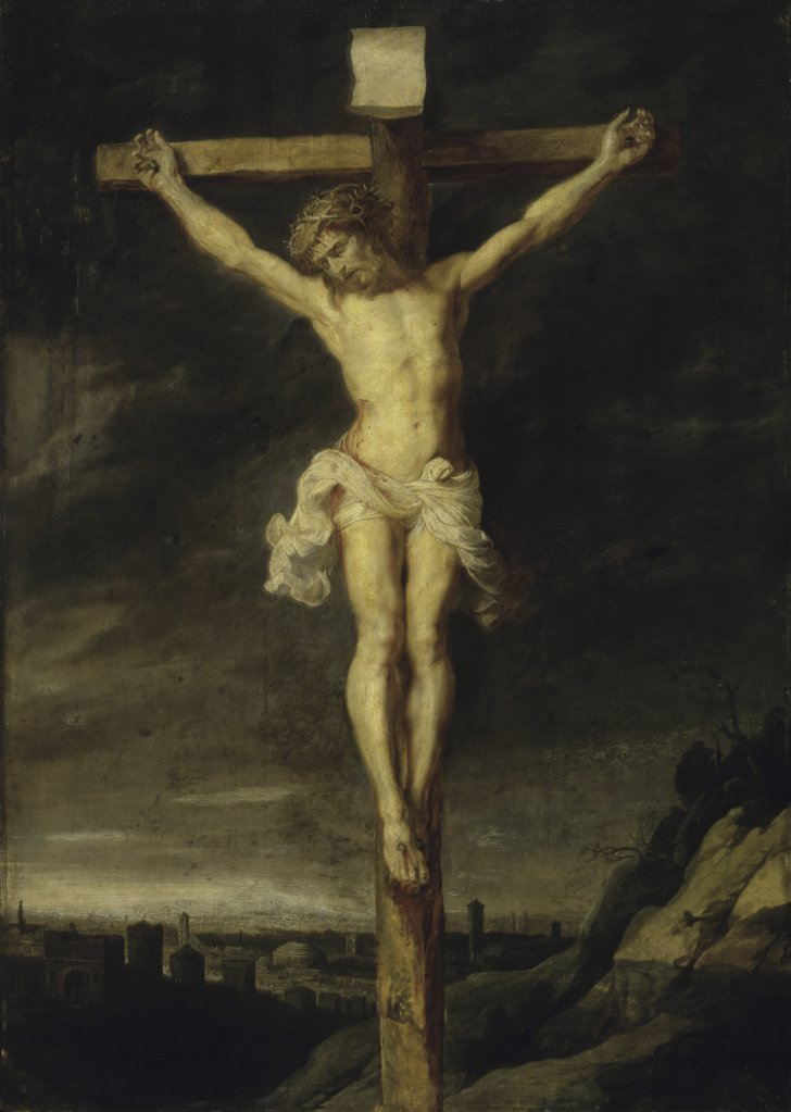 Stock Photo: 261-848 The Crucified