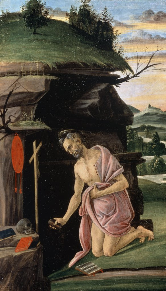 Stock Photo: 261-851 Saint Jerome