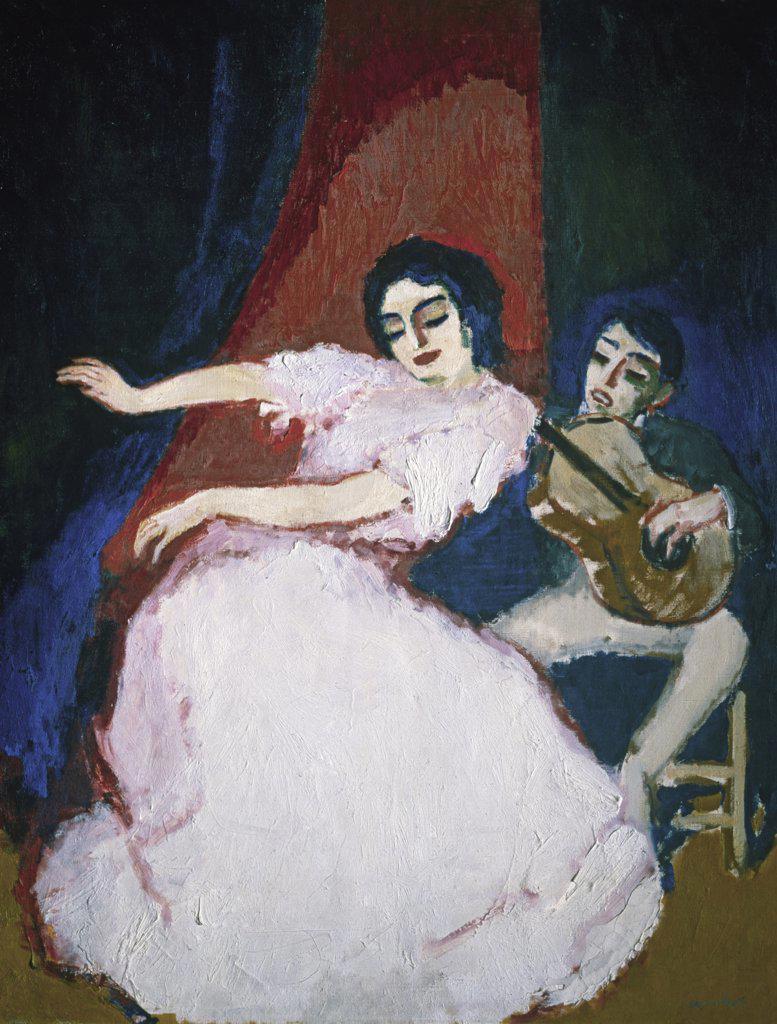 Stock Photo: 261-858 Antonia La Coquinera by Kees van Dongen,  ca. 1900,  (1877-1968 ),  Russia,  St. Petersburg,  State Hermitage Museum