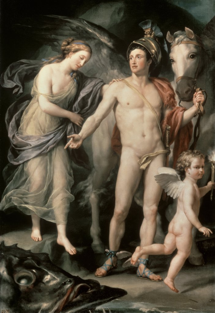 Stock Photo: 261-871 Perseus and Andromeda 