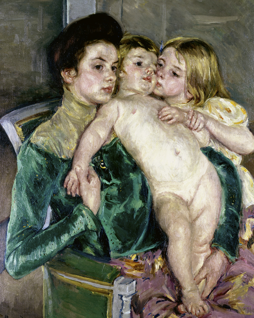 Stock Photo: 262-1568 Child's Caress 