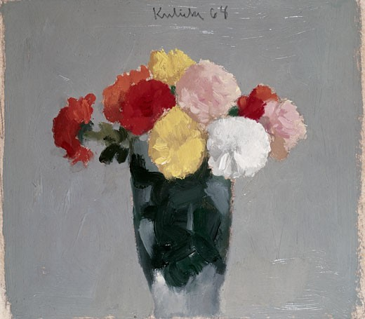 Stock Photo: 262-1585 Still Life - Flowers by Robert M. Kulicke, 1968