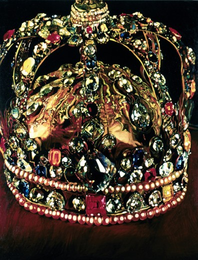Stock Photo: 262-1597 Crown by Joseph Raffael