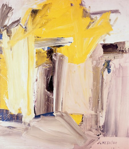 Stock Photo: 262-1688 Door to the River, by Willem de Kooning, oil on canvas, 1960, 1904-1997