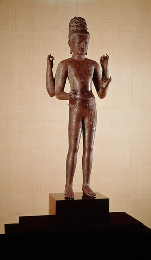 Stock Photo: 262-1701 Maitreya from Pra Ken Chai
