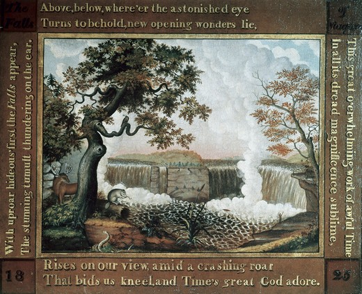 Stock Photo: 262-1884 The  Falls of Niagara