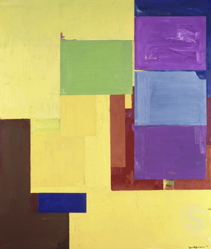 Stock Photo: 262-1901 Title Unknown by Hans Hofmann, 1880-1966