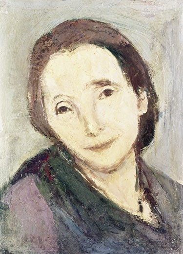 Stock Photo: 262-1913 Esther Orr by Franz Kline,  (1910-1962)