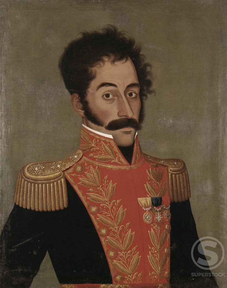 Stock Photo: 262-1950 Simon Bolivar 