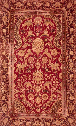 Stock Photo: 262-1977 Turkish Carpet