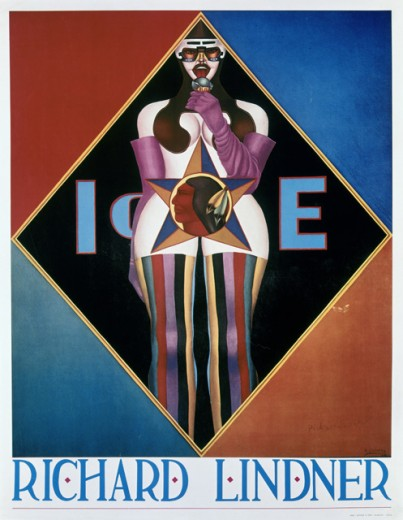 Stock Photo: 262-2003 Title Unknown (Love) by Richard Lindner, poster, 1901-1978