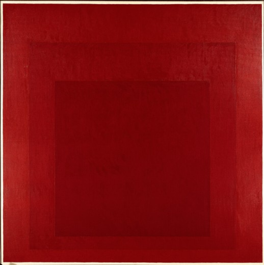Stock Photo: 262-2065 Deep Signal by Josef Albers, 1888-1976, France, Paris, Musee Carnavalet,