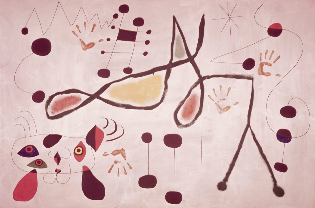 Stock Photo: 262-2090 Woman Dreaming by Joan Miro, 1893-1983, Private Collection