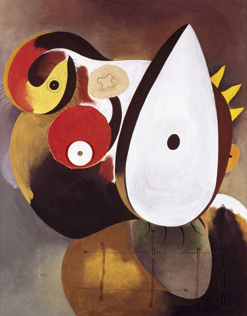 Stock Photo: 262-2091 Human Head by Joan Miro, 1931, 1893-1983