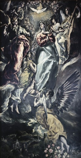 Stock Photo: 262-2143 The Immaculate Conception