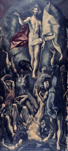 Stock Photo: 262-2145 Resurrection