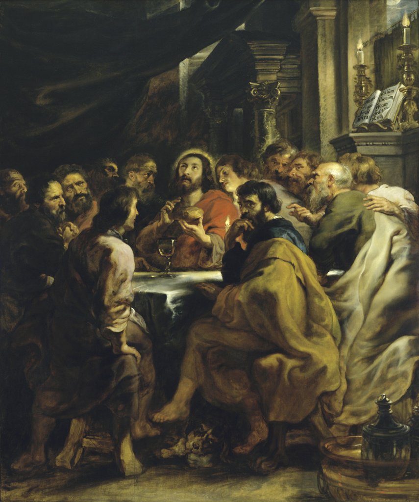 Stock Photo: 263-3 The Last Supper