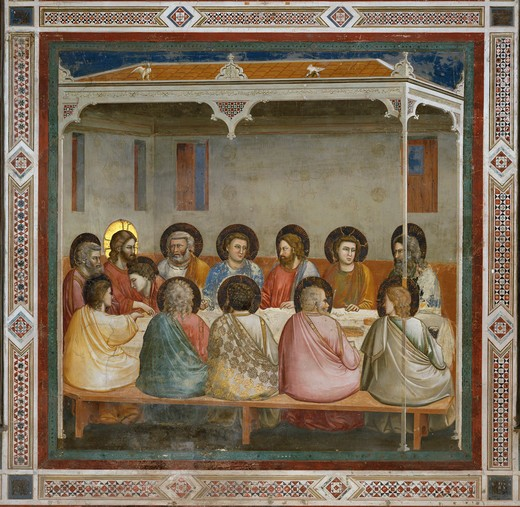 Stock Photo: 263-322 The Last Supper