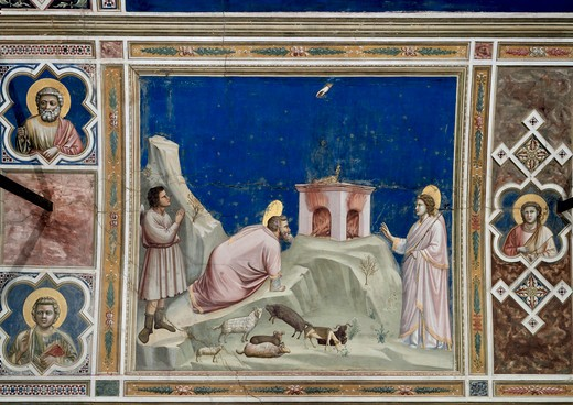 Stock Photo: 263-325 Joachim's Sacrifice