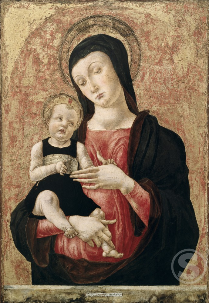 Stock Photo: 263-353 Madonna and Child 