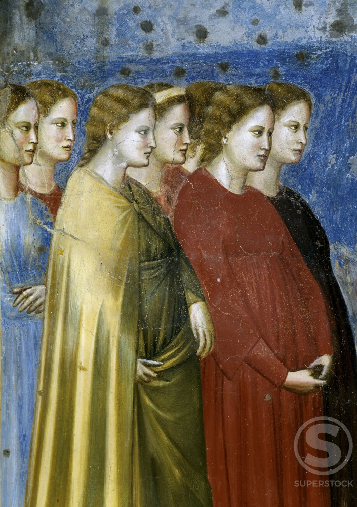 Stock Photo: 263-420 The Virgin's Wedding Procession  (Detail) 