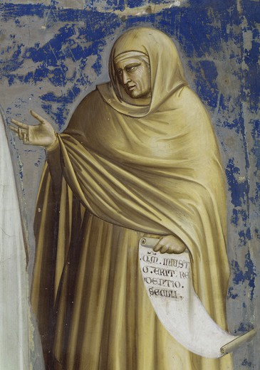 Presentation at the Temple (Detail of Anna)