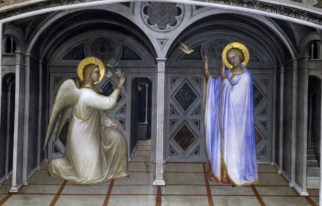 Stock Photo: 263-484 The Annunciation 