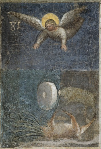 Angel Kills the Beast with a Rock as Big as a Milestone