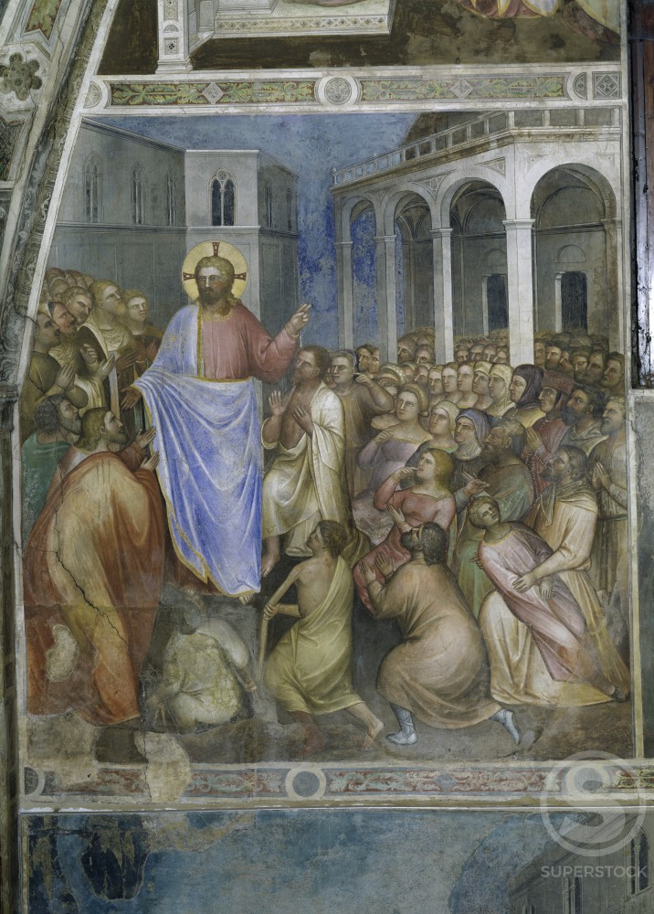 Stock Photo: 263-564 Jesus's Miracles from Stories of St. John the Baptist 