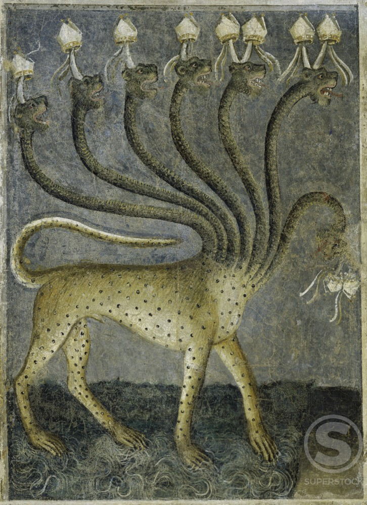 The Beast Comes out of the Sea from Apocalypse:  Descent of the Holy Ghost 