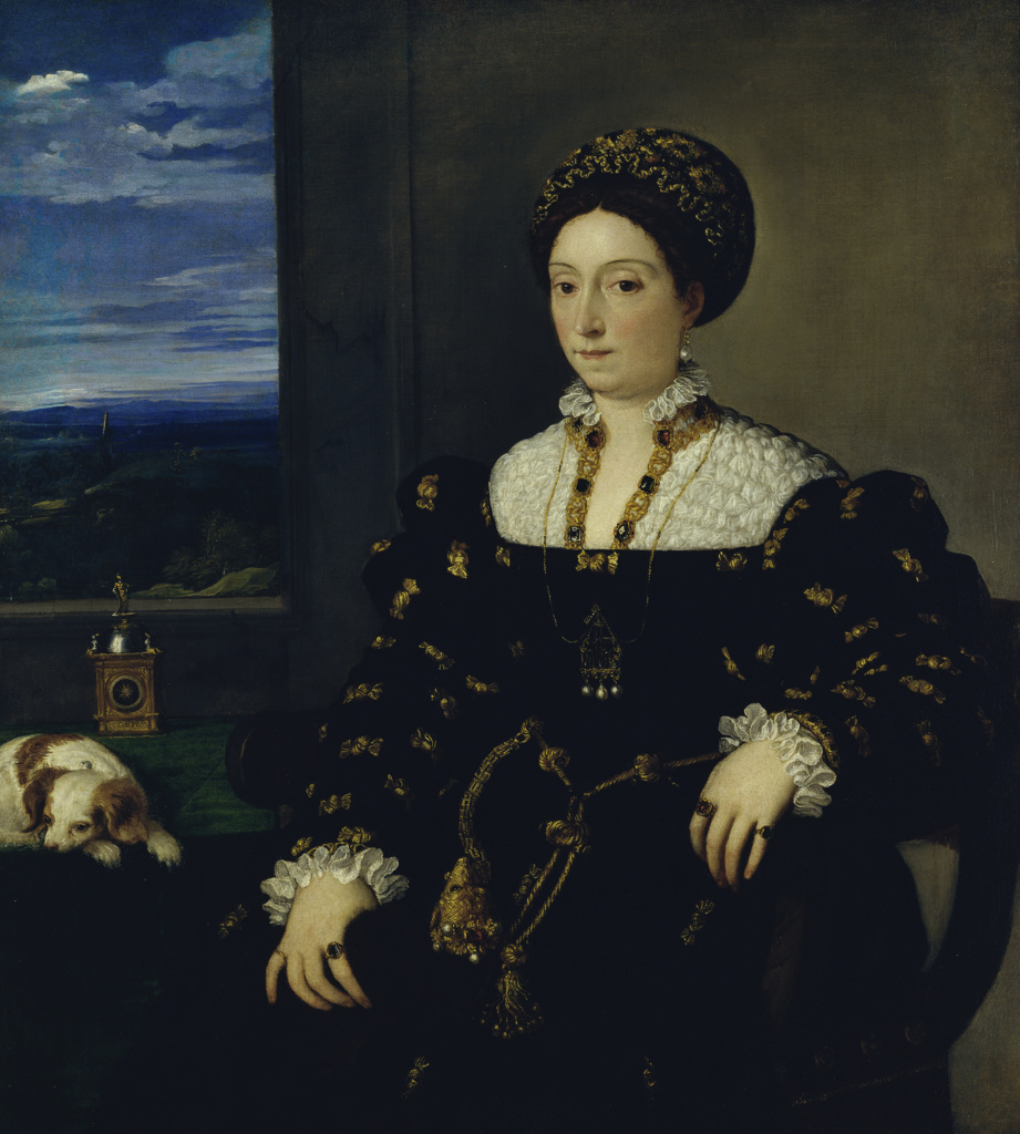 Portrait of Eleonora Gonzaga della Rovere 