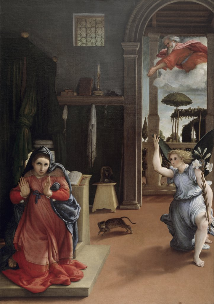 Stock Photo: 263-614 Annunciation 