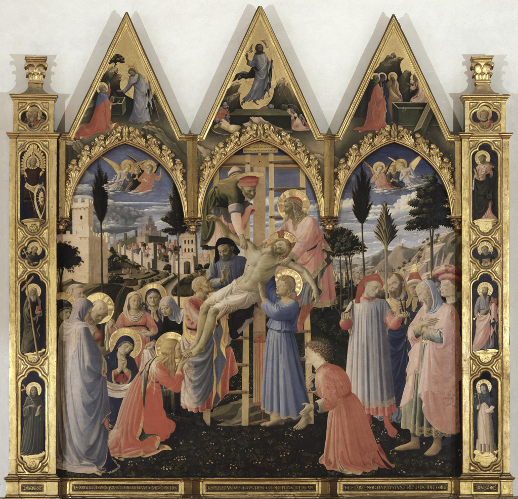 Stock Photo: 263-680 Descent from the Cross